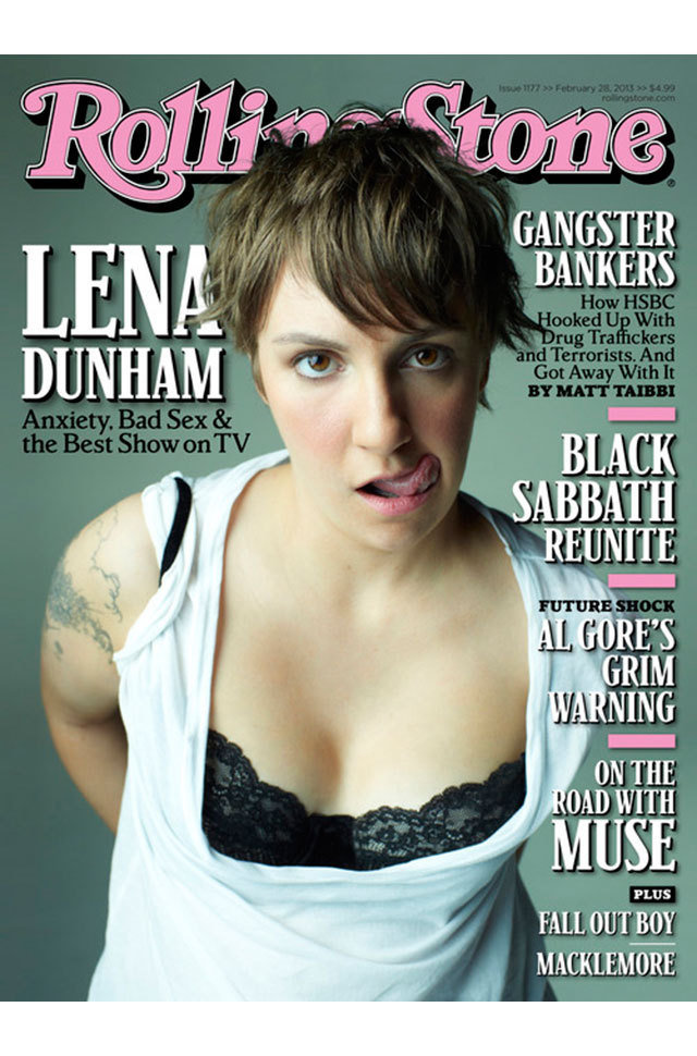 Lena Dunham Rolling Stone Cover
