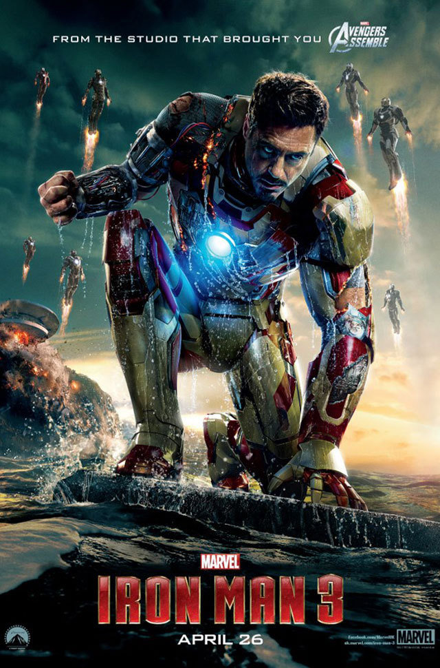 Iron Man 3 Poster tony Stark Robert Downey Jr