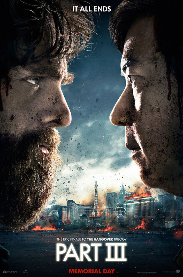The Hangover Part 3 Gets a Harry Potter-style poster