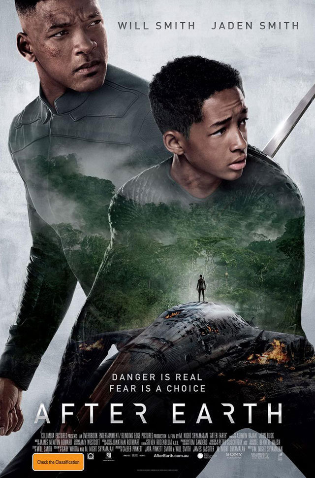 After Earth Starring Will and Jaden Smith Gets New International Poster