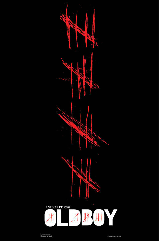 Spike Lee's Oldboy Remake with Josh Brolin Gets a Killer Cinemacon Poster