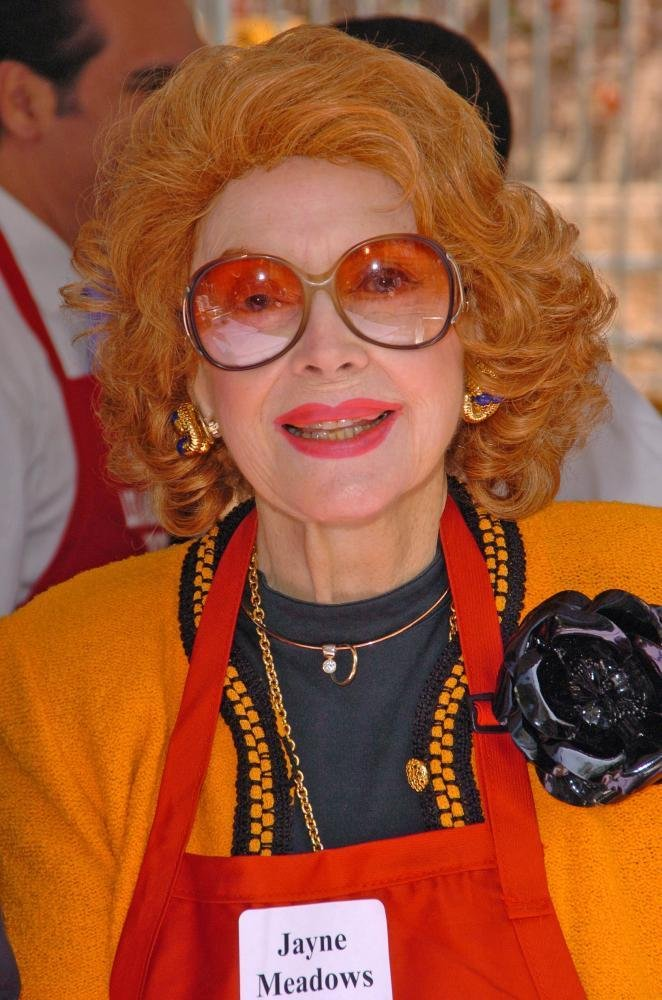 Pics photos never say a funny thing intentionally jayne meadows