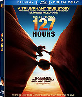 127 Hours dvd blu-ray