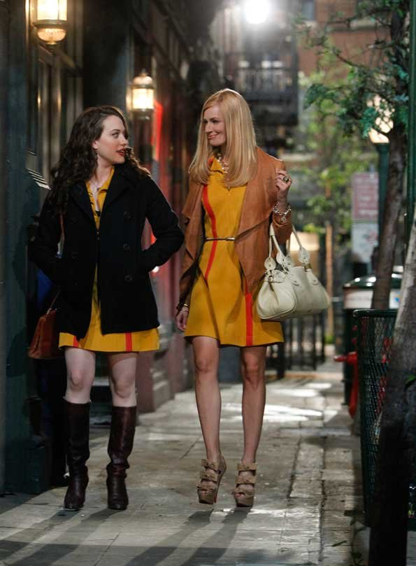 2 Broke Girls Brooklyn Scene