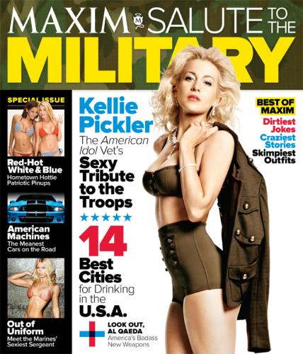 Kellie Pickler Maxim Cover
