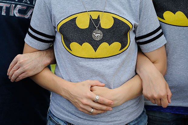 Batman mourners