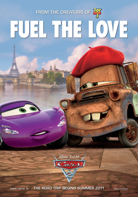 Cars 2 Exclusive Posters