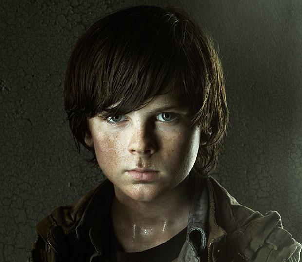 Carl Walking Dead Redemption