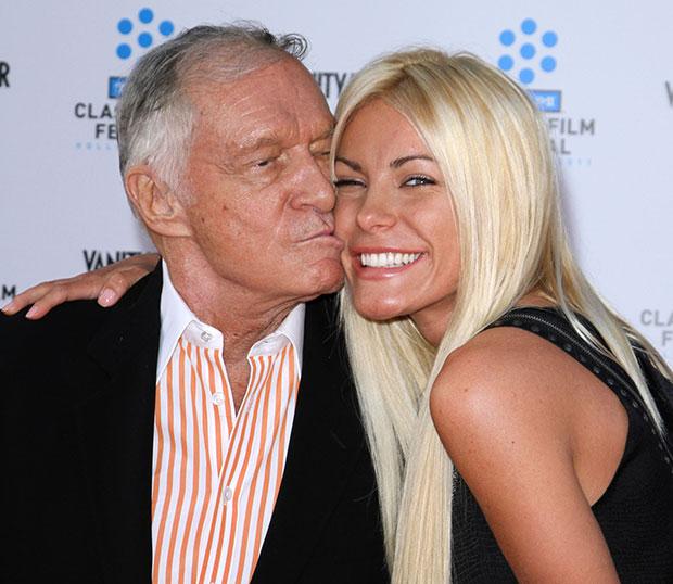 ... Hugh Hefner Has Married His Fiancee Crystal Harris Harris And Hefner