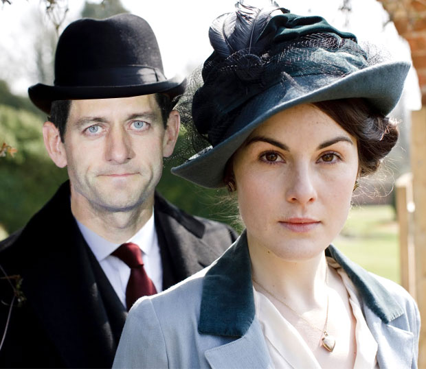 Downton Abbey is making you a Republican