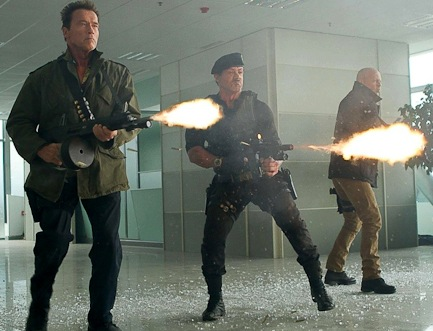 expendables 2 violence