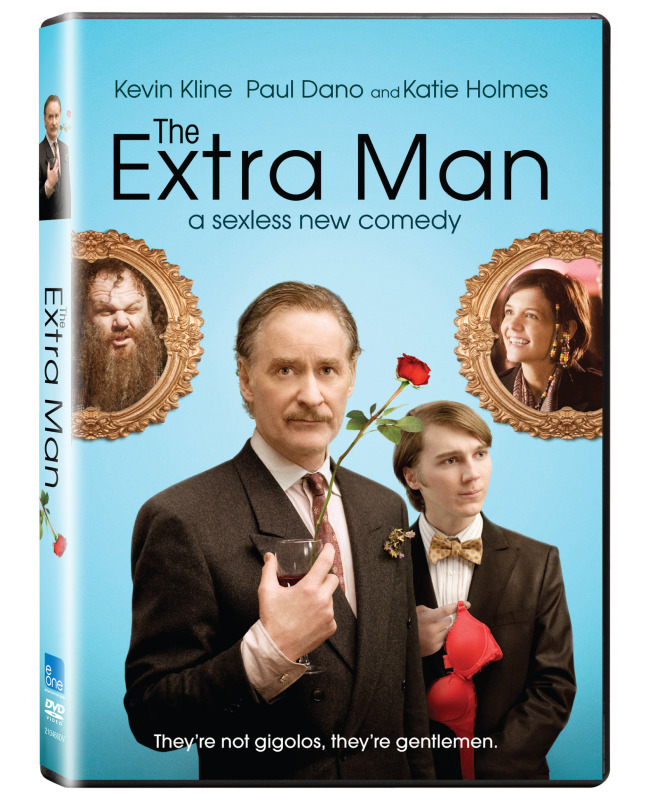 'The Extra Man' DVD