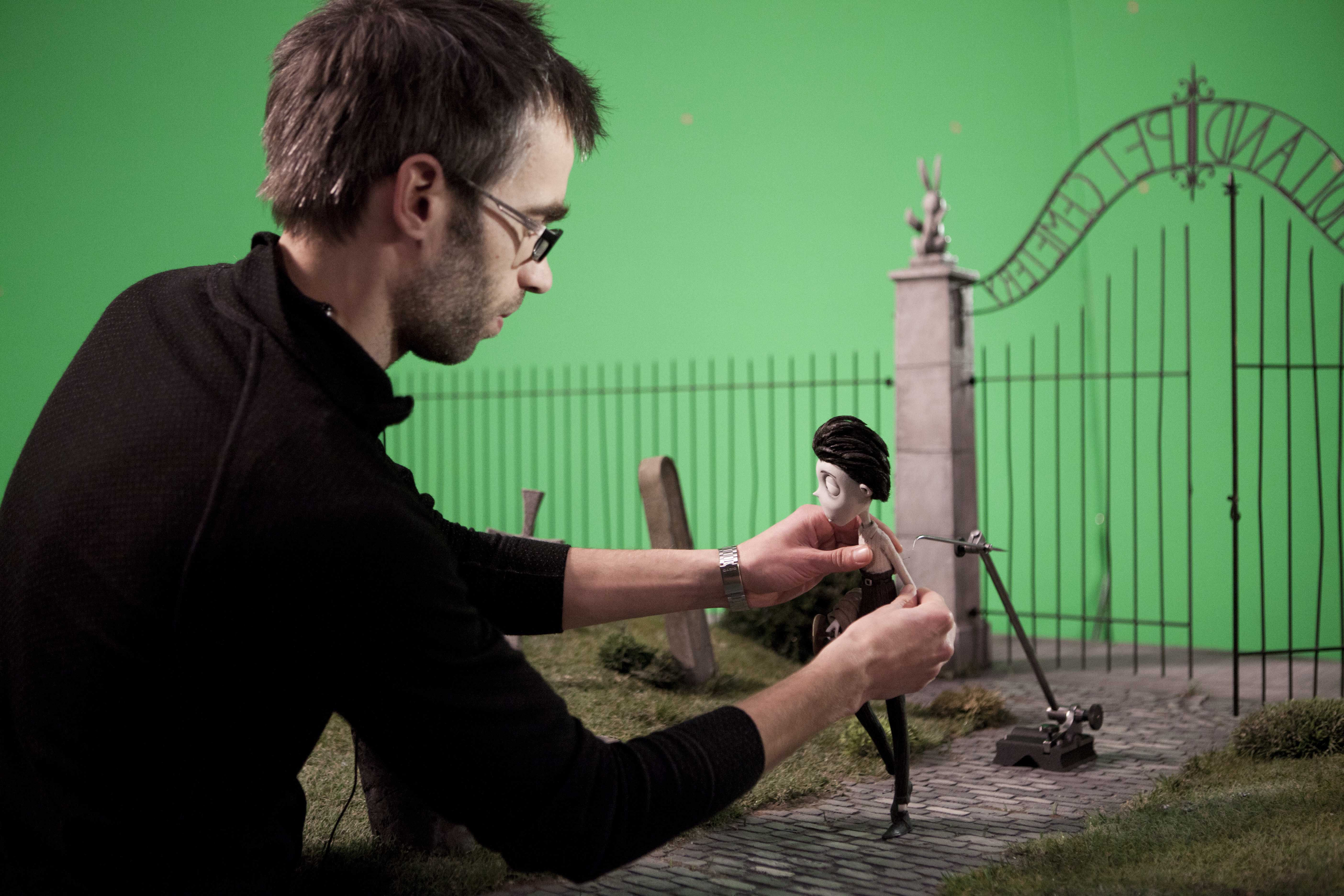 Frankenweenie Set Visit Photos