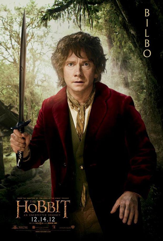 bilbo hobbit poster