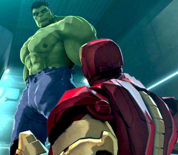 Iron Man and Hulk: Heroes United Cartoon