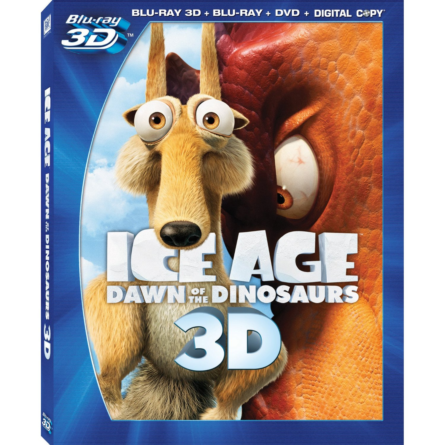 Ice Age 3D Bluray