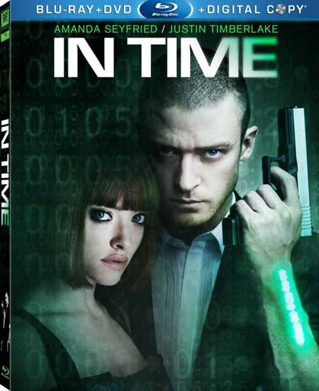 'In Time' Blu-ray Cover