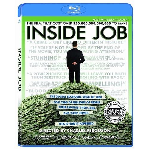 Inside Job Blu-ray