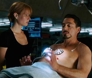Iron Man Shirtless