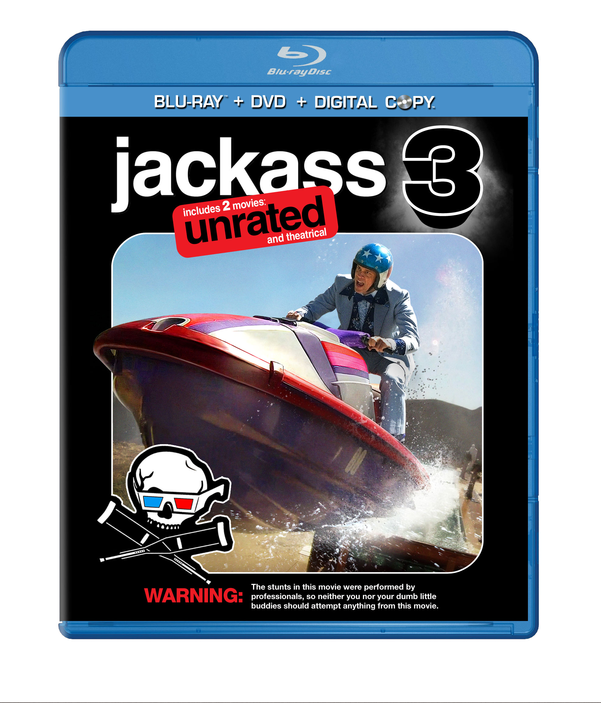 Jackass 3 Blu-ray Cover