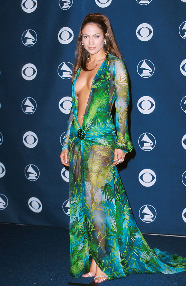 JenniferLopez grammy dress 2000