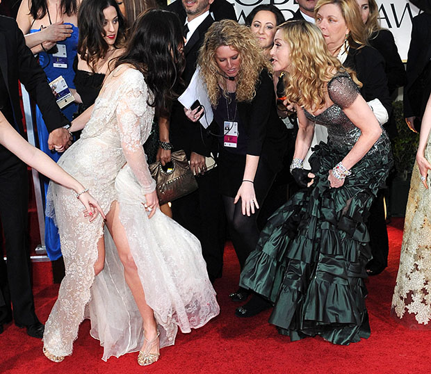 Oops! The Top 10 Awards Shows Wardrobe Malfunctions