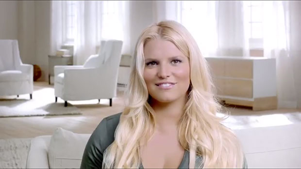 jessica simpson weight watchers commercial