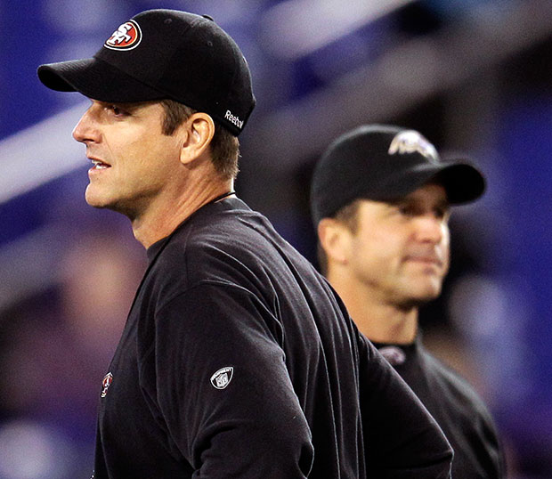 Super Bowl - John Harbaugh Vs. Jim Harbaugh