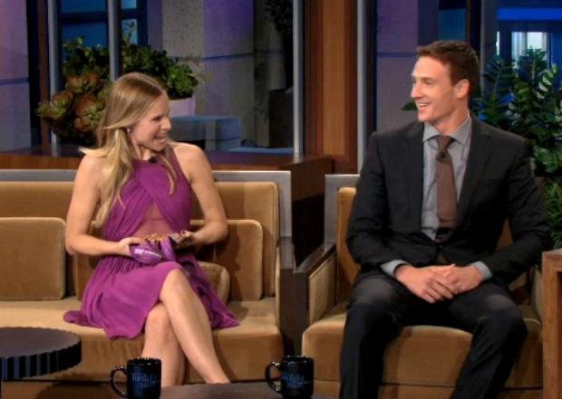 Kristen Bell and Ryan Lochte