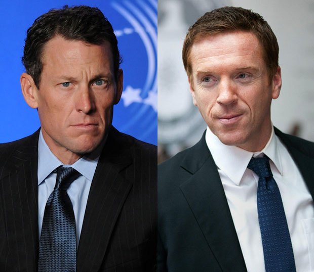 Lance Armstrong Homeland TV comparison