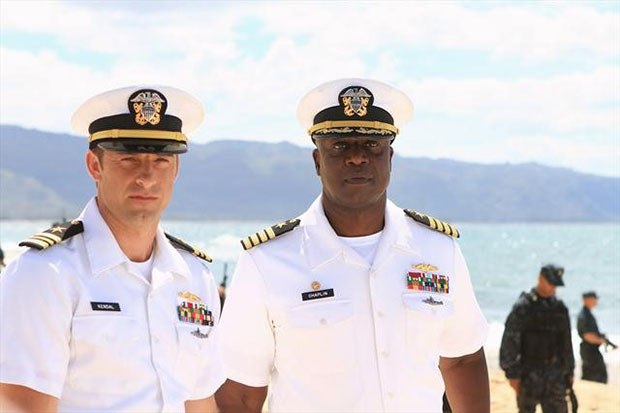 Last Resort Andre Braugher and Scott Speedman