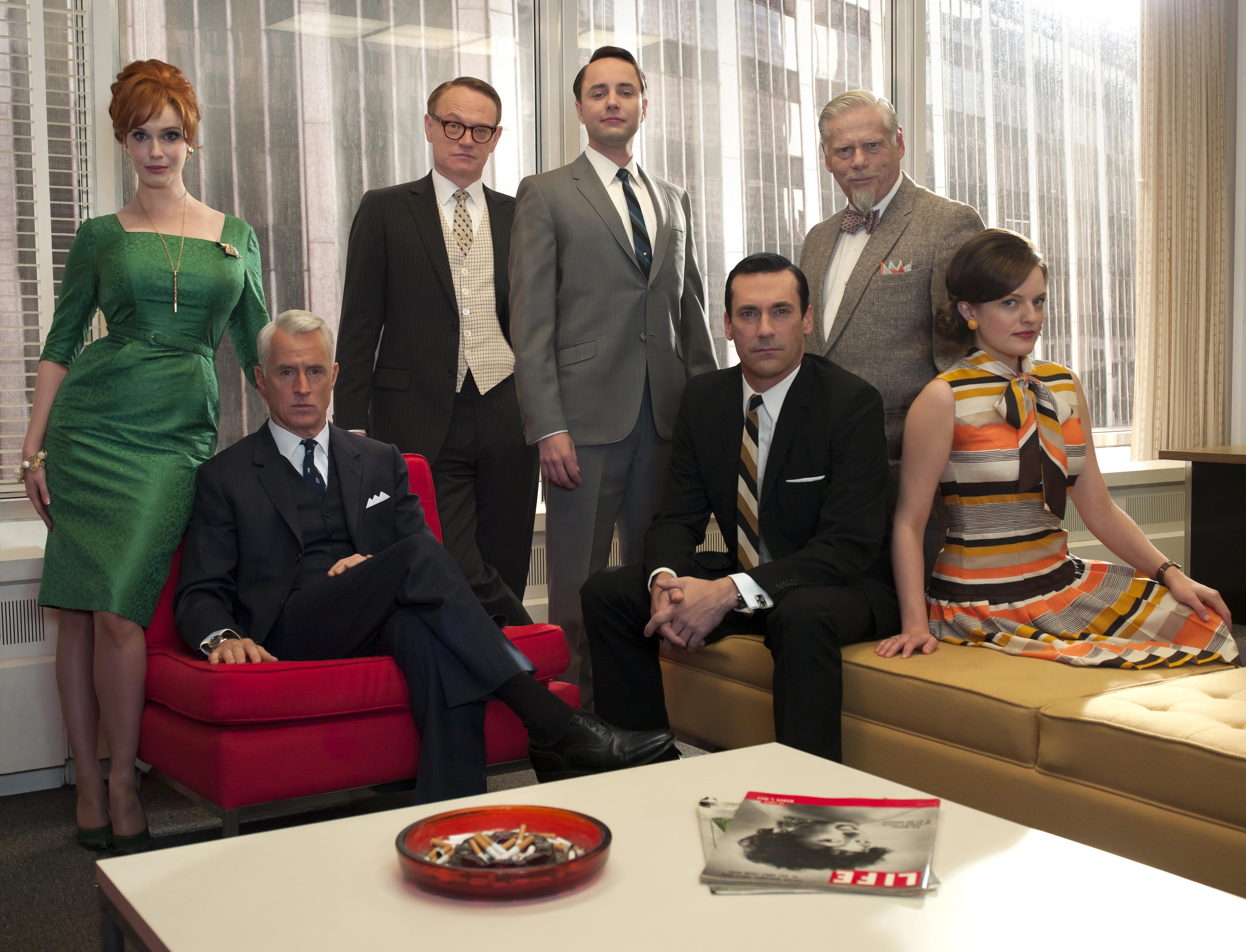 Cast of 'Mad Men'