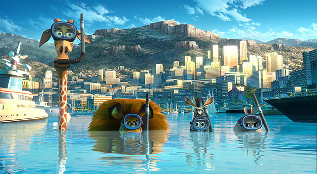 Madagascar3 best of 2012
