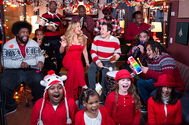all i want for christmas fallon mariah carey
