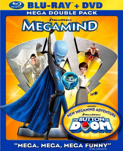 Megamind Blu Ray