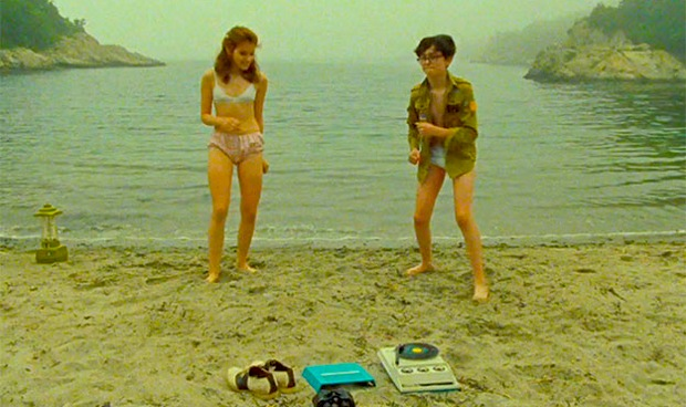 moonrise kingdom beach scene