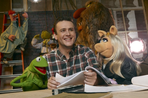 Jason Segel Kermit Miss Piggy The Muppets