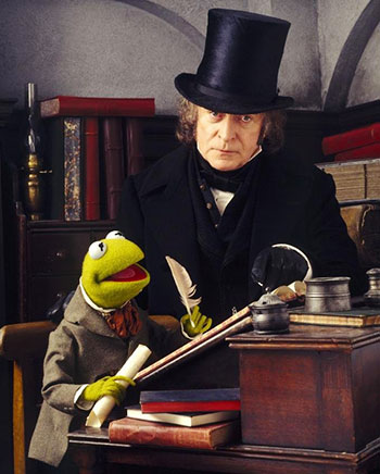 Michael Caine in The Muppet Christmas Carol