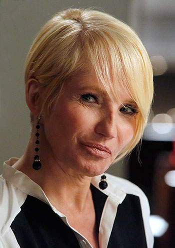 Ellen Barkin Haircut