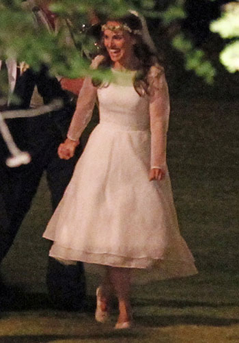 Natalie Portman Wedding Dress
