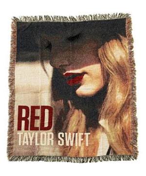 Taylor Swift Face Blanket