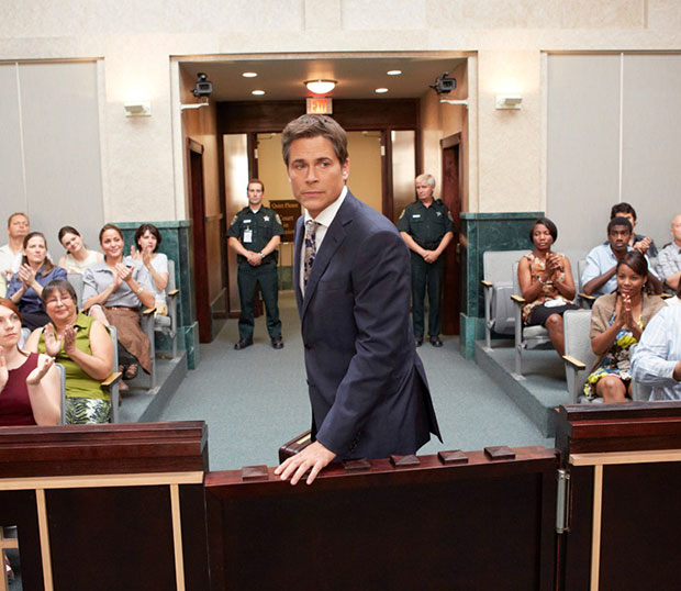 Rob Lowe in Lifetime's 'Prosecuting Casey Anthony'
