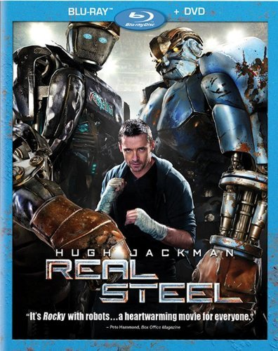 Real Steel Blu-ray Box Art