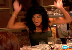 Teresa Giudice Fight