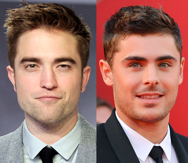 Rob Pattinson Zac Efron plastic surgery