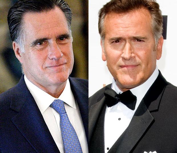 Mitt Romney/Bruce Campbell