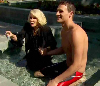 Ryan Lochte Joan Rivers Fashion Police