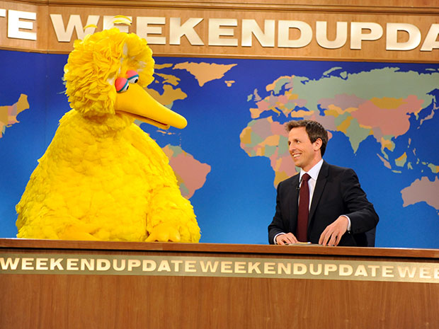 Sesame Street Big Bird SNL