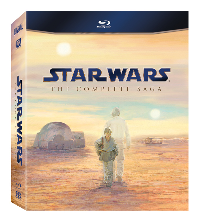 Star Wars Complete Saga Blu Ray Box Set