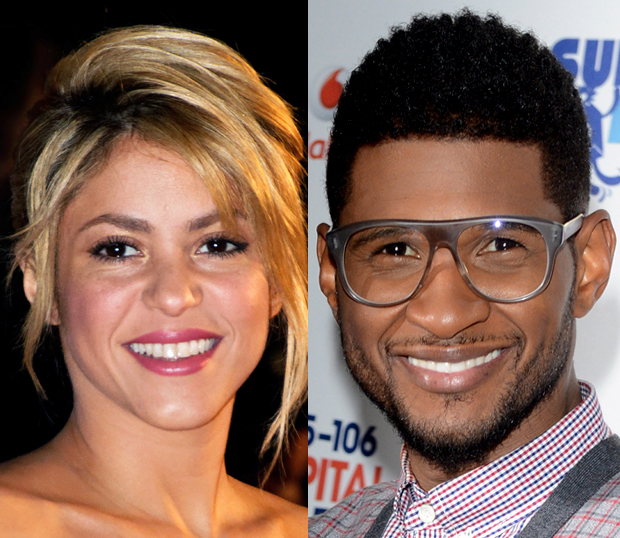 Shakira, Usher on The Voice